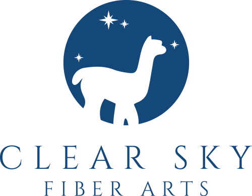 Clear Sky Fiber Arts Logo