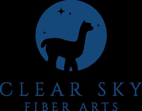 Clear Sky Fiber Arts Logo