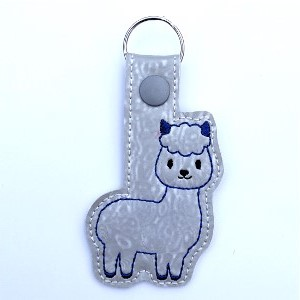 Alpaca Key Ring