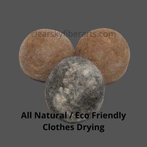 Hypo-Allergenic Alpaca Dryer Balls