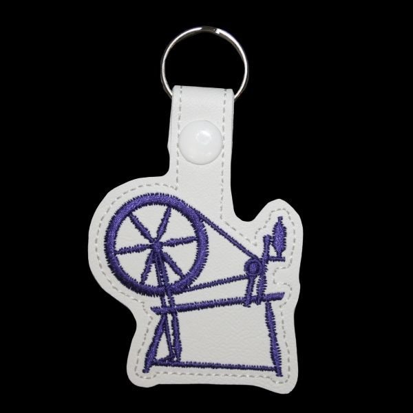 spinning wheel - purple