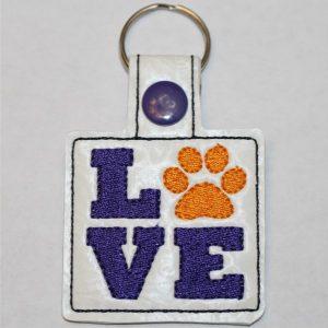 Love Paw Key Ring
