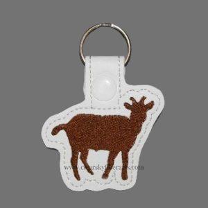 Cute Goat Key Ring