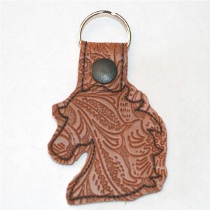 Horse Head Key Ring