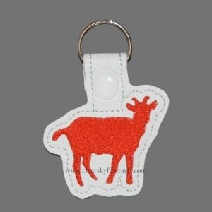 Cute Goat Key Ring