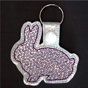 Long Eared Rabbit Key Ring