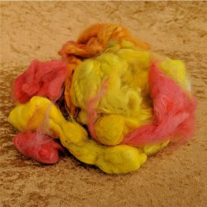 Gold Felting Spinning Fiber