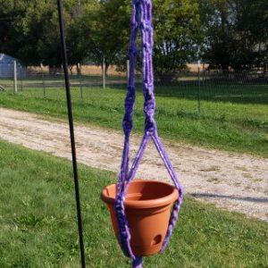 Lavender Alpaca Plant Hanger