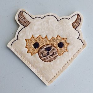 Cute Alpaca Corner Bookmark