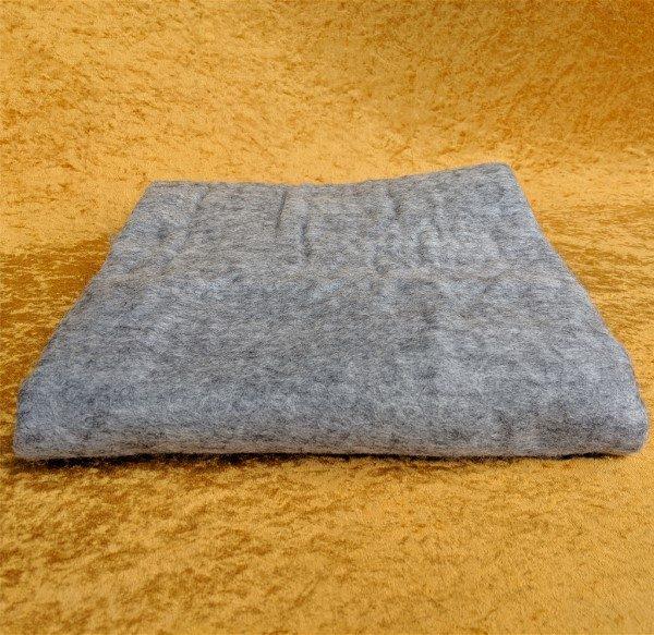 alpaca felted craft sheet using Monolith's fiber