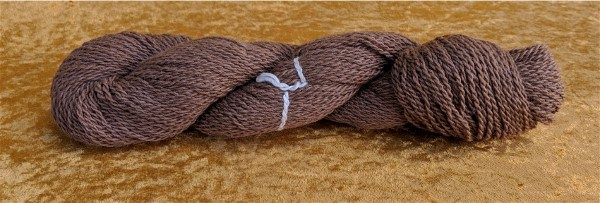 100% alpaca yarn from Estrella's fleece