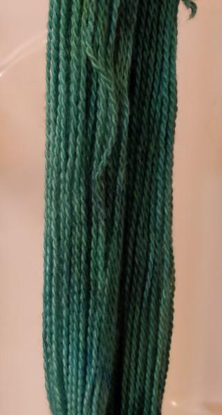 meteor green alpaca yarn