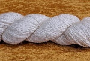 White Alpaca Yarn From Meteor