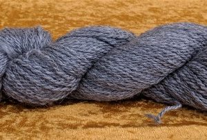 Gray Worsted Alpaca Yarn