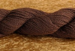 Brown Worsted Alpaca Yarn