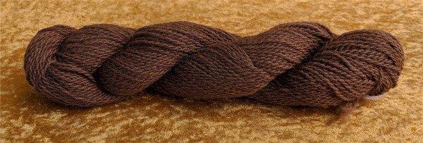 brown alpaca yarn from Spencer the alpaca