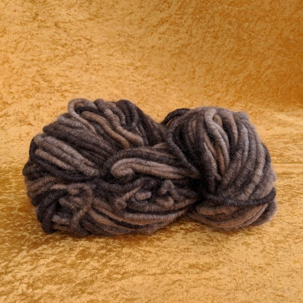 Rug yarn - 100% alpaca from the necks and thirds of our alpaca herd