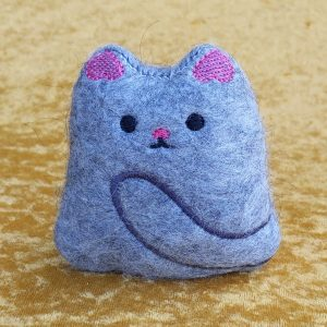 Felted Kitty Stuffie
