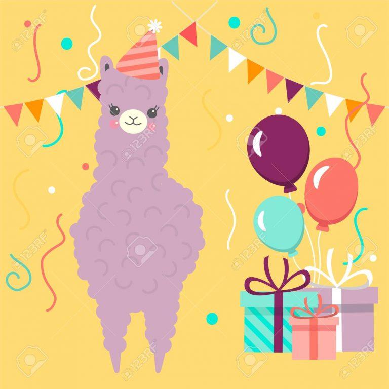 a party alpaca