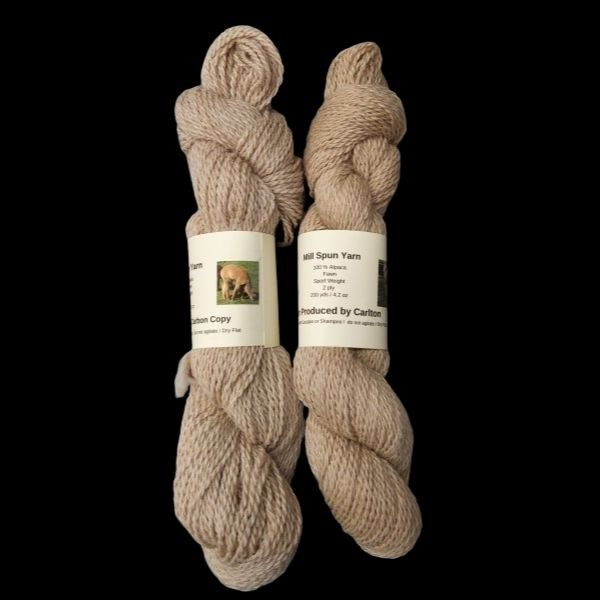 alpaca yarn comparison between carlton and carbon