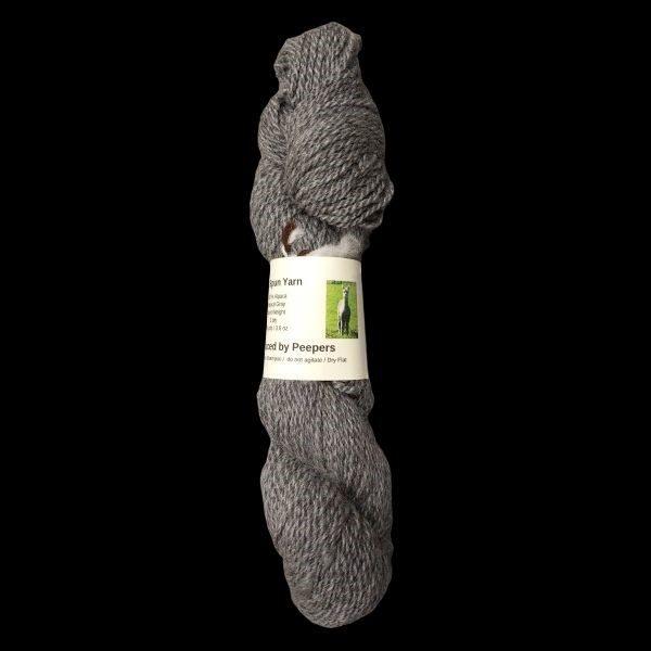 yarn from Peepers fleece