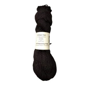 Black Alpaca Yarn – Polly