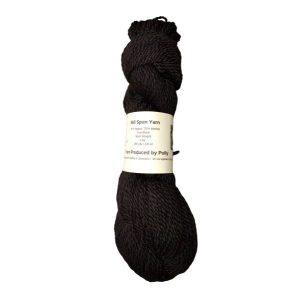 Black Alpaca Yarn – Polly
