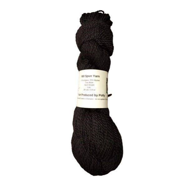 alpaca yarn made with pollys fleece