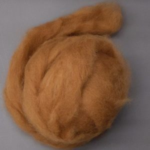 Cups Brown Alpaca Roving