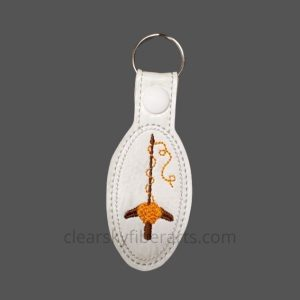 Turkish Spindle Key Ring