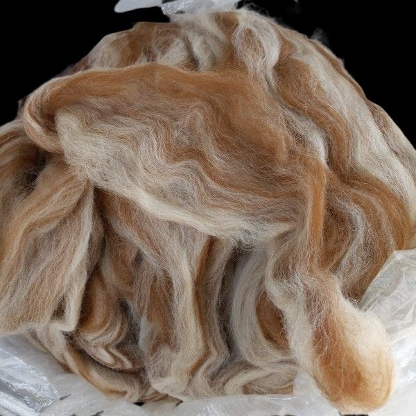 pin drafted alpaca roving from carlton and spencer