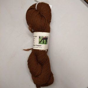 Copper Alpaca Yarn