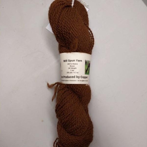 alpaca yarn from Copper