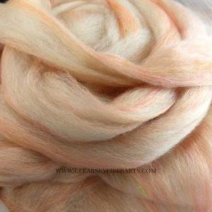 Alpaca Merino Silk Roving
