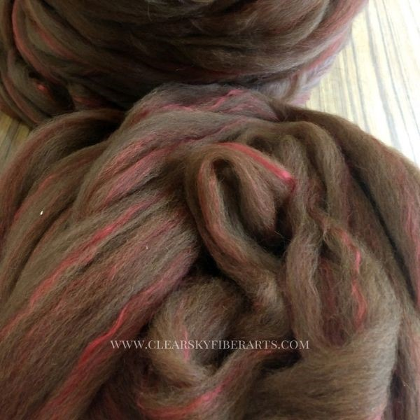 pin drafted roving from Beetle the alpaca
