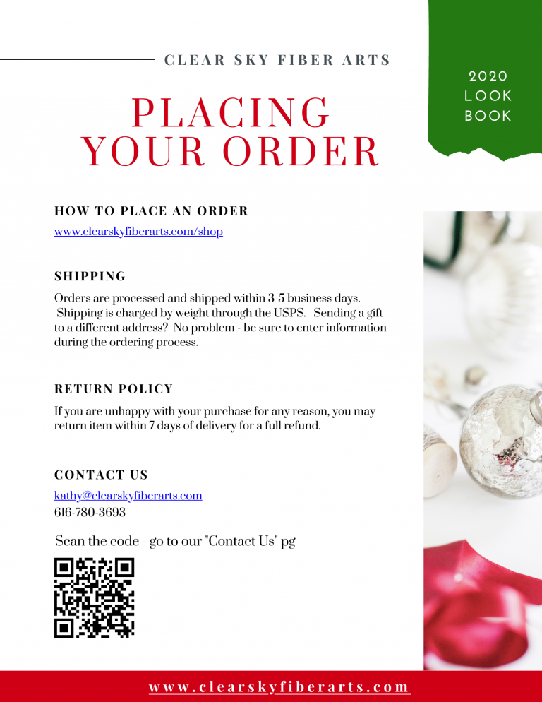 how to place an order with us