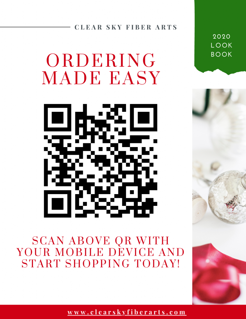 qr code for ordering from us