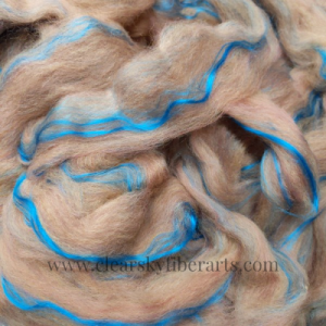 Pin Drafted Coppertop Roving
