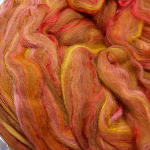 Pin drafted Alpaca Roving – blend