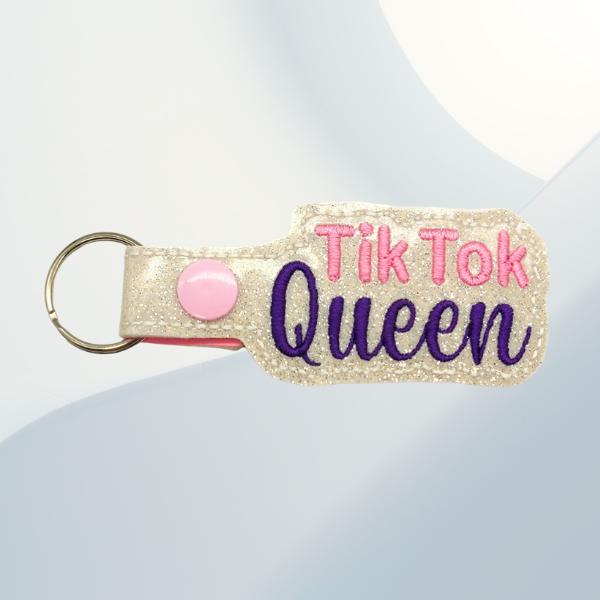 tik tok queen key fob